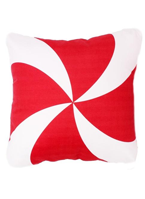 The Groove Dekoratif Yastık Kırmızı